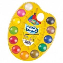 Colorino Kids vodové farby na palete