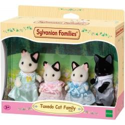 Sylvanian Families 5181 Rodina mačiek s čiernym kocúrom