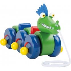 Legler Drevená hračka na ťahanie - Drak