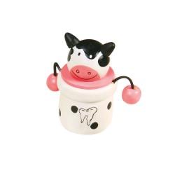 Dózička na uschovanie mliečnych zubov - kravička