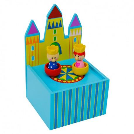Hracia skrinka - hrad