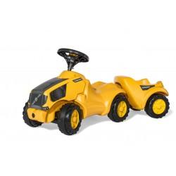Rolly Toys Detské odrážadlo - traktor Minitrac Volvo s vlečkou