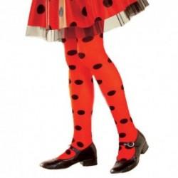 Detské pančuchy ku karnevalovým kostýmom - lienka