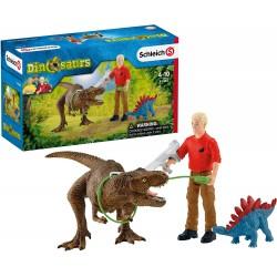 Schleich 41465 set útok Tyranosaura Rexa