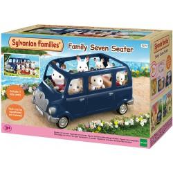 Sylvanian Families 5274 Rodinné auto modré