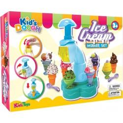 KID´S TOYS farebná plastelína set Výroba zmrzliny