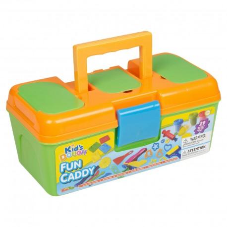 KID´S TOYS plastelína pre deti - sada v kufríku