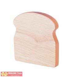 BIGJIGS Drevený toast - 1 kus