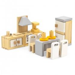 Viga PolarB Nábytok do domčeka pre bábiky - Kuchyňa