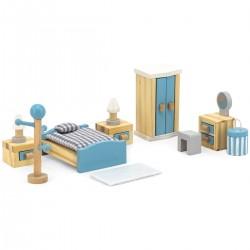Viga PolarB Nábytok do domčeka pre bábiky - Spálňa