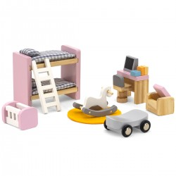 Viga PolarB Nábytok do domčeka pre bábiky - Detská izba