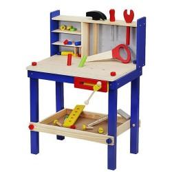 ISO Trade 6860 Detský drevený ponk s náradím