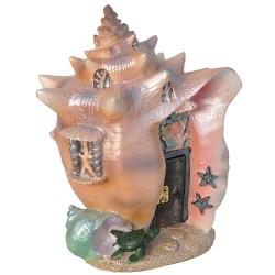 Domček pre miniatúrne záhradky - Morská mušľa