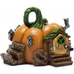 Domček pre miniatúrne záhradky - Halloween tekvica NEW 2020