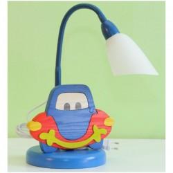 Detská stolná lampa - autíčko