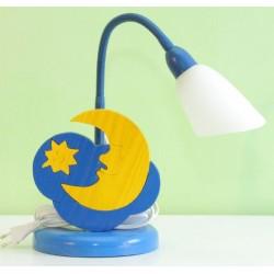 Detská stolná lampa - mesiačik