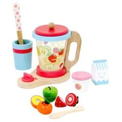Mentari Detský drevený smoothie mixér