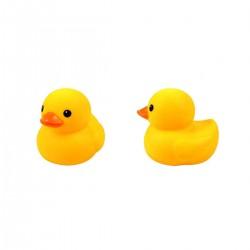 Gumená kačička do vody 13 cm-ová - žltá - 1 kus
