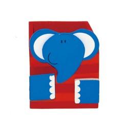 Drevený stojan na ceruzky - slon