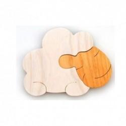 Drevená dekorácia - ovečka