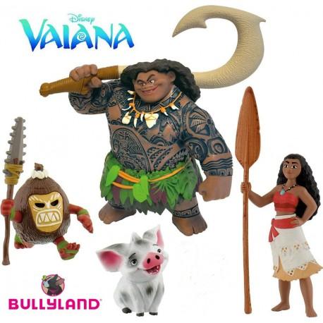Bullyland Vaiana 13181 - rozprávkové figúrky 5-dielna sada
