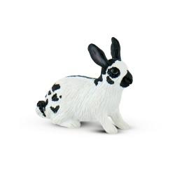 Bullyland Zajac bielo-čierny figúrka