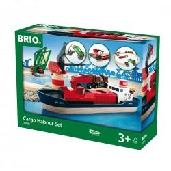 Brio 33061 Nákladný prístav - 16-dielna sada