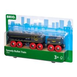 Brio 33697 Šedý rýchlo-vlak s vagónom na uhlie