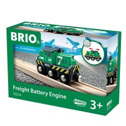 Brio 33214 Elektrická zelená lokomotíva