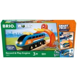 Brio 33971 Smart Tech Sound Nahrávacia lokomotíva
