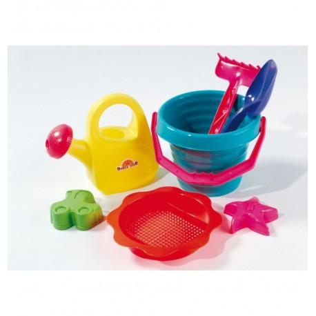 Hračky do piesku s krhličkou - 7-dielny set