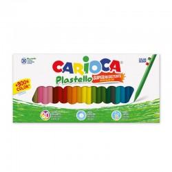 CARIOCA farebné tenké voskovky 30 kusov