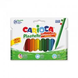 CARIOCA farebné tenké voskovky 24 kusov