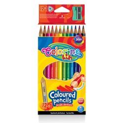 Colorino Kids farebné ceruzky 12+1 ks
