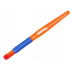 Colorino Kids štetec na maľovanie Jumbo 1 kus - modro-oranžový