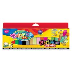 Colorino Kids farebná plastelína 18 farieb - MIX