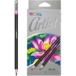 Colorino Artist farebné ceruzky 12 ks