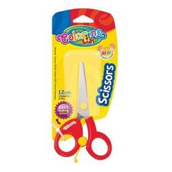 Colorino Kids nožnice pre deti - červené