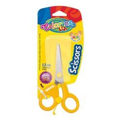 Colorino Kids nožnice pre deti - žlté