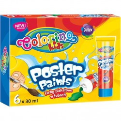 Colorino Kids temperové farby v tube 6x30ml