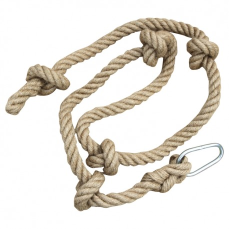 Detské lano na lezenie s uzlami 200 cm