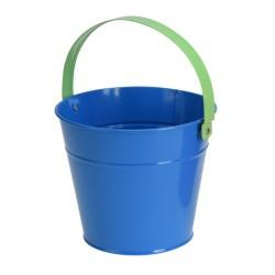 Detské kovové vedierko - modré