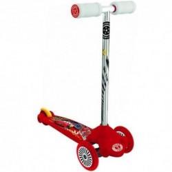 MONDO Detská otočná kolobežka Scooter Twist & Roll Cars
