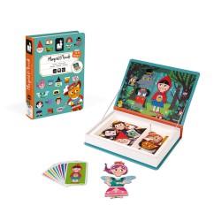 JANOD detská magnetická kniha Rozprávky