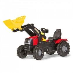 Rolly Toys Detský šlapací traktor FarmTrac Case Puma CVX 225 s lyžicou