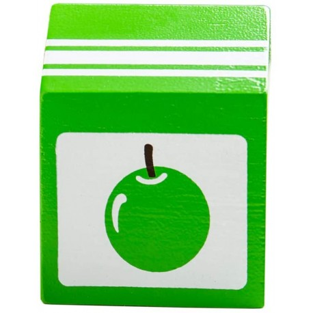 BIGJIGS Drevený jablkový džús - 1 kus