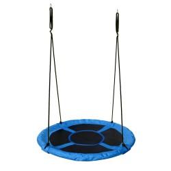 Wonderland Detské hojdacie hniezdo s Ø 110 cm - modré