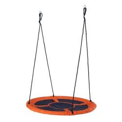 Wonderland Detské hojdacie hniezdo s Ø 110 cm - oranžové