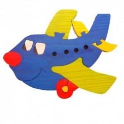Drevená dekorácia - lietadlo