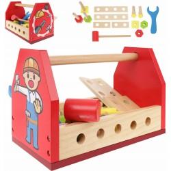 ISO Kruzzel 11225 drevené náradie v prepravke